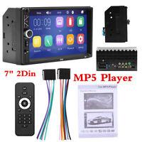 "12V 7"" 2 Din WINCE System Head Unit Bluetooth Stereo FM Radio Audio MP5 Player"