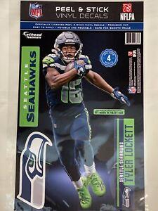 """Tyler Lockett Seattle Seahawks Fathead Teammate Sticker Wall Decal 17"""" inch"""