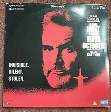 SEAN CONNERY  The Hunt for Red October LASERDISCS - Gift
