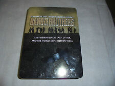 Band of Brothers DVD 2002 6-Disc Set HBO Complete Series Collection in Tin Case