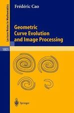 Lecture Notes in Mathematics: Geometric Curve Evolution and Image Processing...