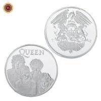 WR Queen Freddie Mercury Rock & Pop Gedenkmünze Silber Clad Music Geschenke