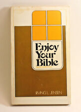 Irving L. Jensen ENJOY YOUR BIBLE 1969 vintage paperback Special Crusade Edition