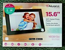 "Aluratek 15.6"" Touchscreen LCD Wi-Fi Digital Photo Frame"