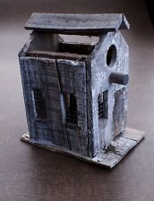 Vintage Primitive Folk Art Birdhouse