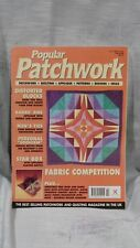 8 x Popular Patchwork Magazines (DIK)