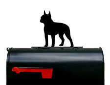 Boston Terrier Dog Mailbox Topper / Plaque / Sign - Made in USA