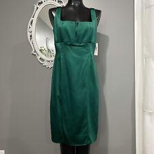 Size 10 - NWT CALVIN KLEIN Emerald Green Sheath Dress