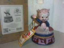 Jim Shore Looney Tunes Porky Pig Treasure Box Trinket box Jewelry Box Nib Look!