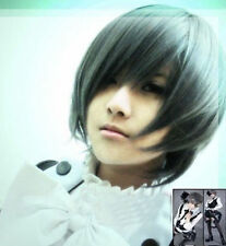 Anime Animation Art Butler Ciel Phantomhive Cosplay Wig KuroshitsujI Hair Wigs