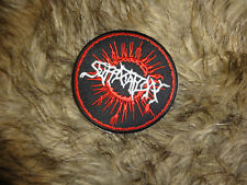 Suffocation Patch Shape Patch Death Metal Pyrexia