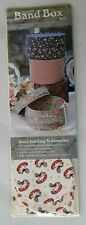 """Band Box Kit Rocking Horse Print NIP Regency Mill 5 1/4"""" Diameter Circle"""