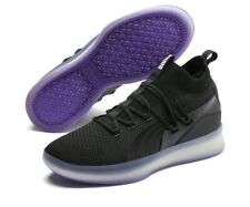 Puma Basketball Clyde Court Disrupt Black Electric Purple Hoop 191715-06 Men 10