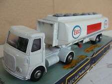 CAMION TRUCK DINKY FUEL TANKER ESSO 945 BOX OLD TOYS