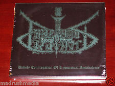 Impetuous Ritual: Unholy Congregation Of Hypocritical Ambivalence CD 2014 NEW
