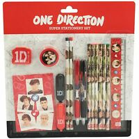 Official 1D One Direction Snapshot 16 Piece Super Stationery Set School Gift