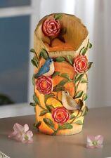 Birds & Blooms Decorative Sculpted Nightlight Lamp Botanical Birds Floral Lamp