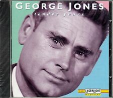 GEORGE JONES : TENDER YEARS / CD - NEU