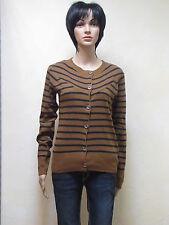 Only Strickjacke Polly Stripe Knit in ocker Neuware in Größe M
