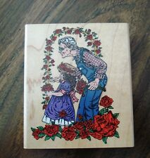 Cynthia Lysonski Rubber Stamp  by Inkadinkado
