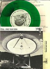 FUXA Free your Soul UNRELEASE TRX GREEN  7 INCH Vinyl Windy & carl DELTA WAVES