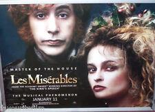 Cinema Poster: LES MISERABLES 2013 (The Thénardiers Quad) Sascha Baron Cohen
