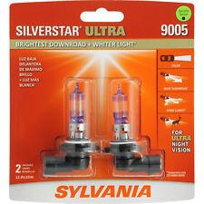 Headlight Bulb-SilverStar Ultra Blister Pack Twin Headlight Bulb Sylvania