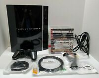 Playstation 3, 80 GB Fat Console Bundle With 1 Controller, 12 Games, HDMI Cord