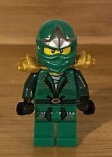Lego Ninjago GREEN NINJA Mini Figure - Lloyd ZX Minifigure 9450 Retired