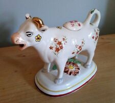Vintage Decorated Cow Creamer