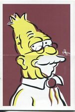 Simpsons Mania Dr. Marvin Monroes Split Personality Chase Card F9