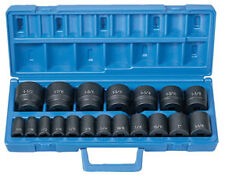 "Grey Pneumatic GRY 1319 19 pc. 1/2"" Dr. Fractional Impact Socket Set"