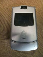 Motorola RAZR V3 - Silver (UKNOWN NETWORK) Mobile Phone