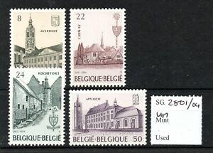 Belgium 1984 Abbeys set SG2801/04 MNH