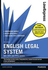 Law Express: English Legal System by Emily Finch, Stefan Fafinski (Paperback,...