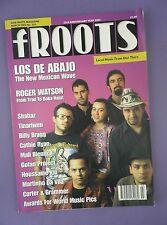 FROOTS - Folk Roots Magazine March 2002 - Los De Abajado, Roger Watson...
