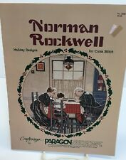 """Craftways for Paragon Needlecraft """"Norman Rockwell Holiday Designs"""" NO 5099"""