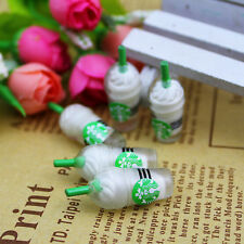 5X Miniature Dollhouse Small Coffee Cup Kitchen Room Food Decor Mini World DIY