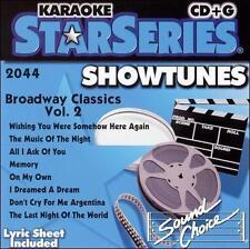 Karaoke: Broadway Classics 2 Karaoke Audio CD