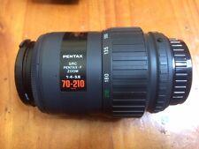 Pentax smc F 70-210 zoom lens