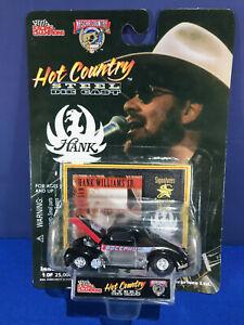 Racing Champions Hot Country Hank Williams Jr Steel Die Cast Car #15 Bocephus