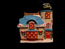Department 56 Disney Village- Mickey's Candy Shop- Lighted Christmas Building