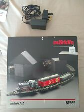 More details for märklin mini-club 81569 class 89 steam locomotive starter set