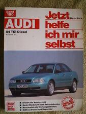 Audi A4 TDI Diesel ab 2/95 Reparaturbuch Band 180 Auto Reparatur Wartung Technik