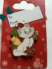 Disney The Aristocats Holiday Hat Bells Marie Christmas White Cat Pin NEW