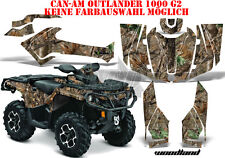 AMR RACING DEKOR KIT ATV CAN-AM OUTLANDER G2 STD & XMR MAX WOODLAND LAGERWARE