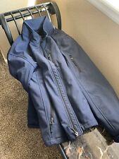 Mens Van Heusen L Studio Black Jacket Coat Insulated Winter Outdoor Heater Blue