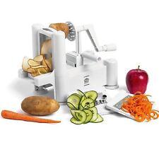 Spiral Slicer Cutter Chopper Spiralizer Shred For Vegetable Fruit Twister Peeler