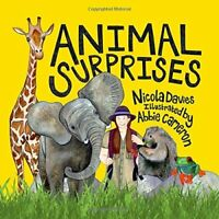 Animal Surprises by Nicola Davies Book The Fast Free Shipping