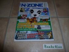 N-ZONE 11/08 Grand Theft Auto: Chinatown Wars Nintendo DS / Animal Crossing Wii